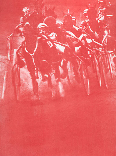 Ted Jones, 'Vogel 3, Rosecroft Raceway', 1990s