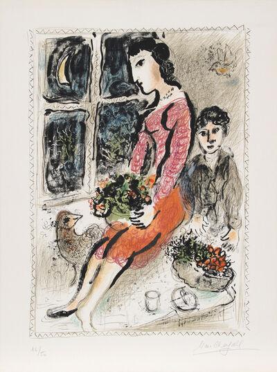 Marc Chagall, 'Le Corsage Violet (M. 691)', 1973