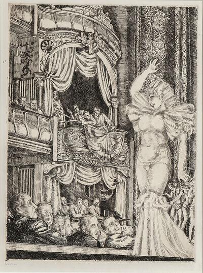Reginald Marsh, 'Star Burlesque', 1933