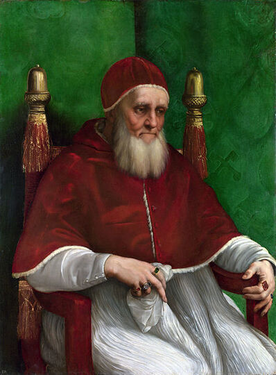 Raphael, 'Portrait of Pope Julius II', 1511