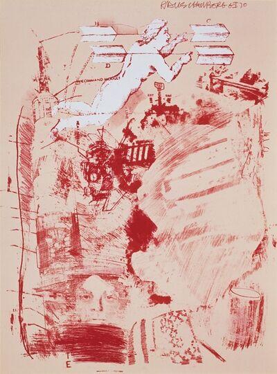 Robert Rauschenberg, 'Score', 1970