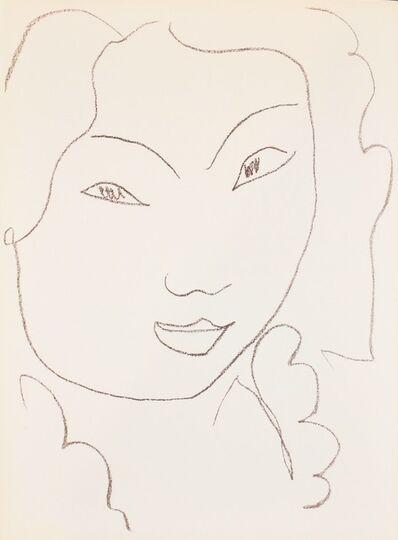Henri Matisse, ' Sur l'Arc Vert', 1972