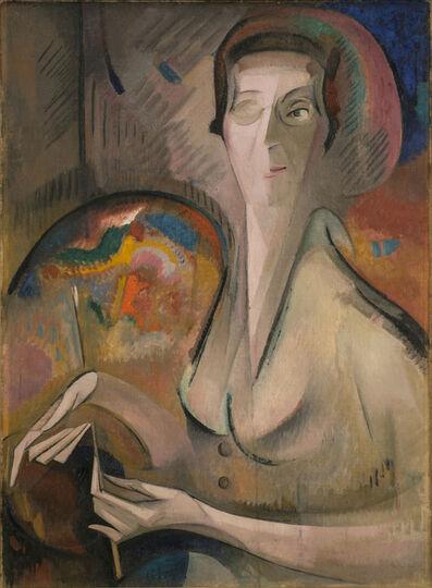 Alice Bailly, 'Self-Portrait', 1917