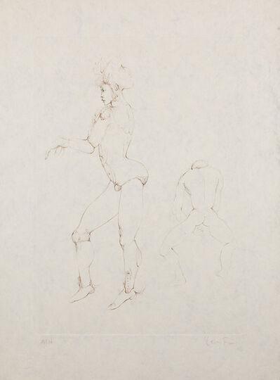Leonor Fini, 'Les Elus de la nuit (5A)', 1986
