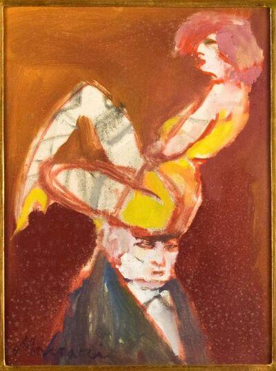 Mino Maccari, 'The Acrobat', 1950s