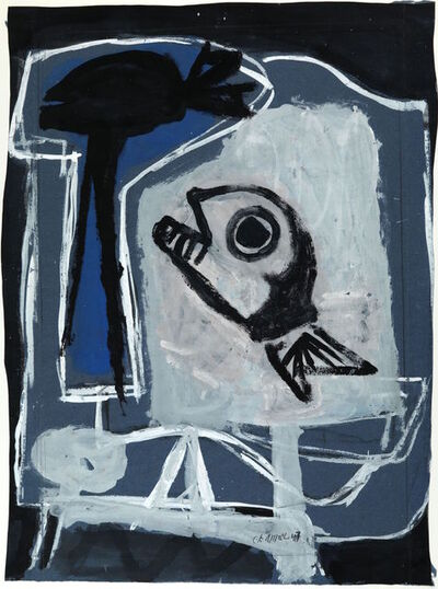 Karel Appel, 'Le Poisson', 1947