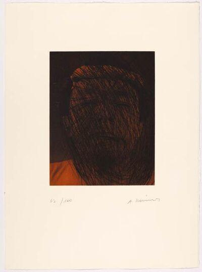 Arnulf Rainer, 'Kopfschmerz', 2001