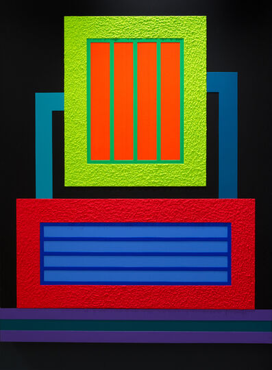 Peter Halley, 'Borderline ', 2012