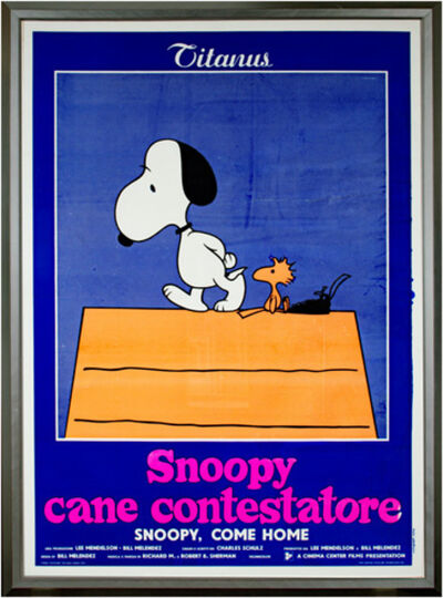 Charles M. Schulz, 'Snoopy, Come HOme', 1972