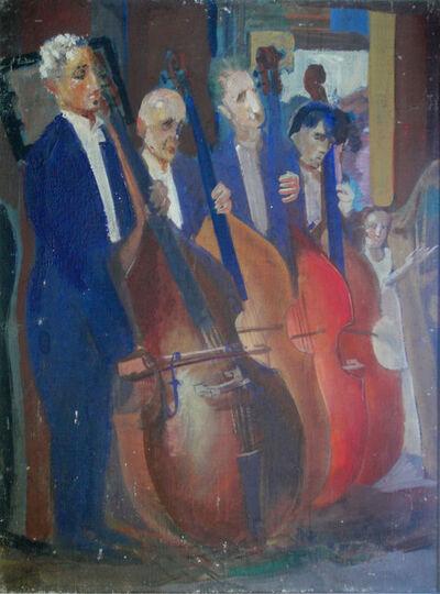 Vasily Shukhaev, 'Orchestra', 1970
