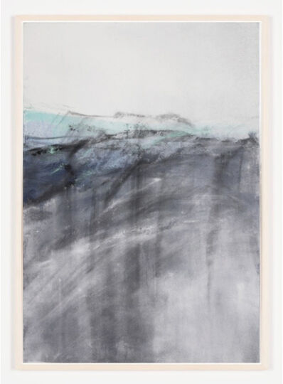 Carla Chan, 'Clouded White –blue grey 沌 白', 2018