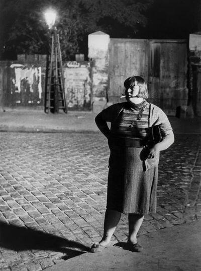 Brassaï, 'Fille de Joie, Quartier d'Italie', 1932