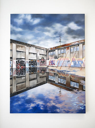 Jessica Hess, 'Rainy Portland', 2014