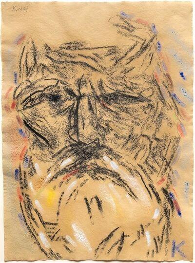 R. B. Kitaj, 'Self Portrait (After Freud's Second Painting of Me)', 2000-2004