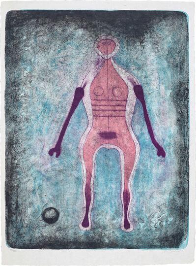 Rufino Tamayo, 'La Negress (The Black Woman), from Mujeres', 1969
