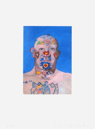 Peter Blake, 'Tattooed Man', 2015