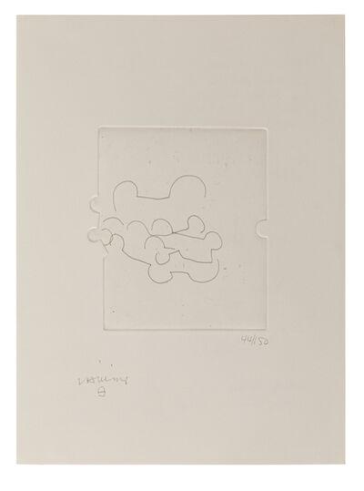 Eduardo Chillida, 'Emile M. Cioran: Ce maudit moi II', 1983