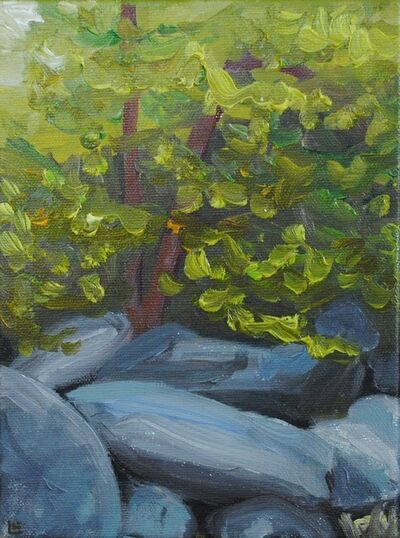Linda Lynton, 'From the Rocks [boulders carrried down by storms]', 2019