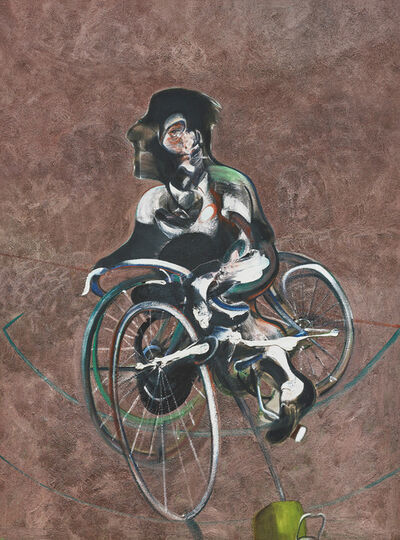 After Francis Bacon, 'Portrait of George Dyer Riding a Bicycle', 1966/2015