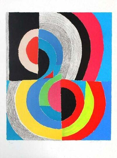 Sonia Delaunay, 'Plougastel, c', 1970