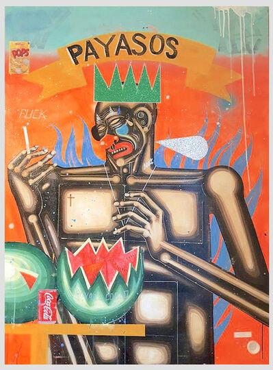 Carlos Ramirez (b. 1967), 'Payasos', 2016