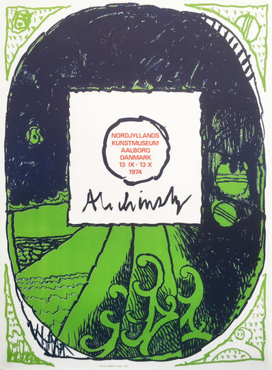 Pierre Alechinsky, 'Poster for  Nordjyllands Kunst Museum', 1974
