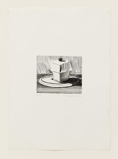 Wayne Thiebaud, 'Lemon Meringue', 1964