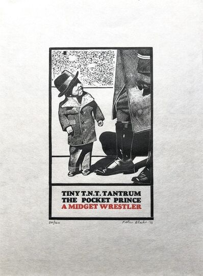 Peter Blake, 'Tiny Tim T.N.T. (from 18 Small Prints)', 1973