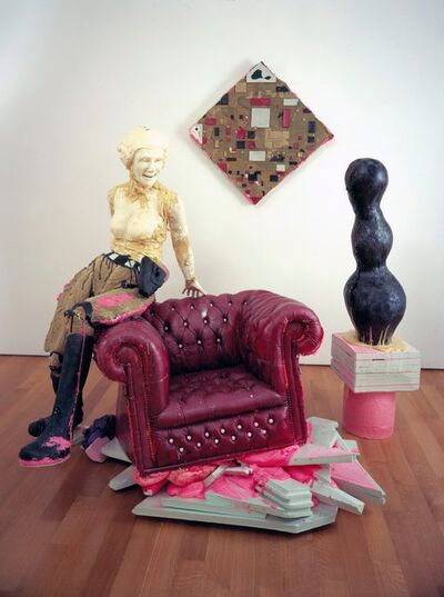 Folkert de Jong, 'Golden Smiles-First Lady, Arp, and Last Boogie Woogie', 2007