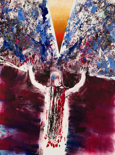 Arthur Secunda, 'Exodus 17:11 Moses raised his arms and Israel overcame', 2006