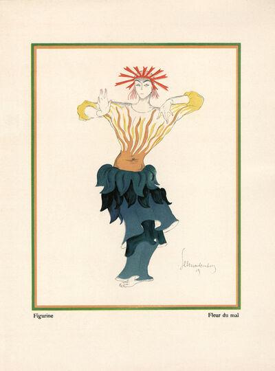 """Walter Schnackenberg, '""""Flower of Evil"""", Kostume, Plakate und Decorationen', 1920"""