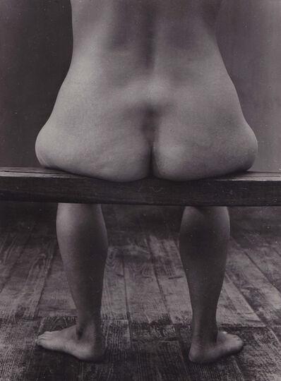 Agnès Varda, 'Nu assis banc', 1954
