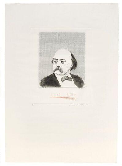 David Hockney, 'Gustave Flaubert (signed)', 1973