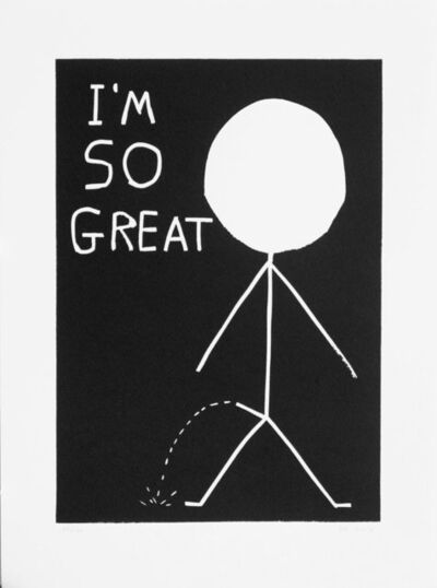 David Shrigley, 'I'm so Great', 2014