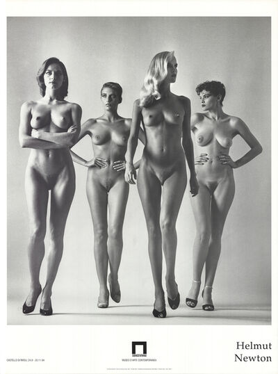 Helmut Newton, 'They Are Coming', 1994