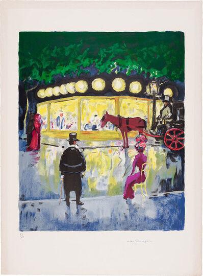 Kees van Dongen, 'Le Carrousel (Le Champs-Élysées) (J. Jl 39)', 1963