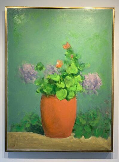 Paul Resika, 'Geraniums', 1985
