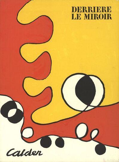 Alexander Calder, 'Derriere Le Miroir Cover 173', 1968
