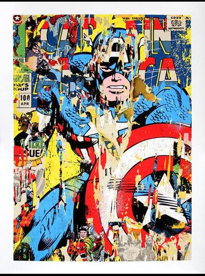 Mr. Brainwash, 'Captain America', 2018