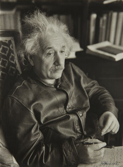Lotte Jacobi, 'Albert Einstein, Physicist, Princeton, N.J.', 1938