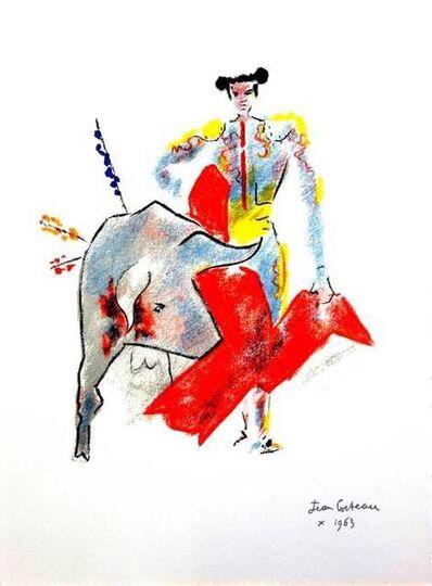 "Jean Cocteau, 'Original Lithograph ""Bulls"" by Jean Cocteau', 1965"