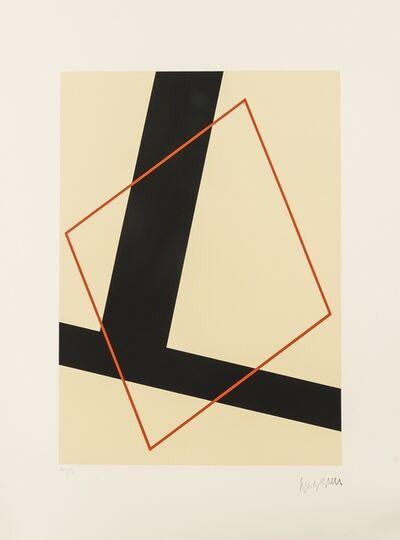 Friedrich Vordemberge-Gildewart, 'Composition', 1973