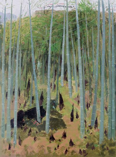 Wu Guanzhong, 'Bamboo Grove', ca. 2005