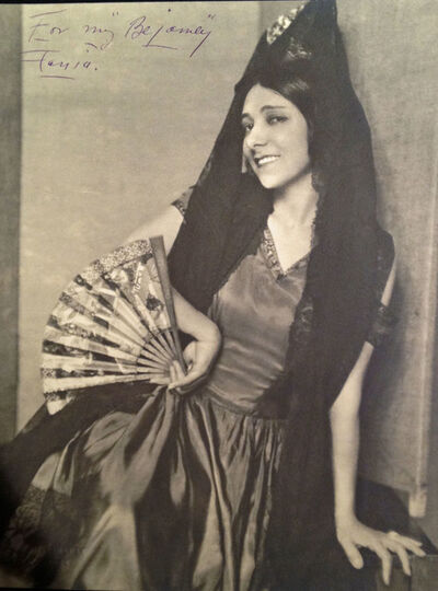 Nickolas Muray, 'FANIA MARINOFF VAN VECHTEN', ca. 1920-1930