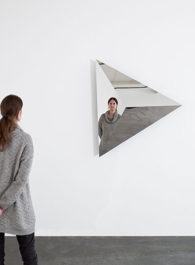 Jeppe Hein, 'Rotating Triangular Pyramid I', 2015