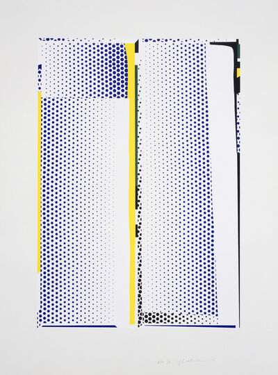 Roy Lichtenstein, 'Mirror #9', 1972