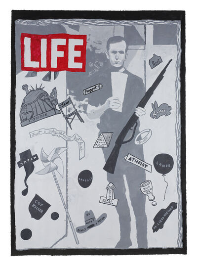 Derek Boshier, 'Lee Harvey Oswald ', 2006