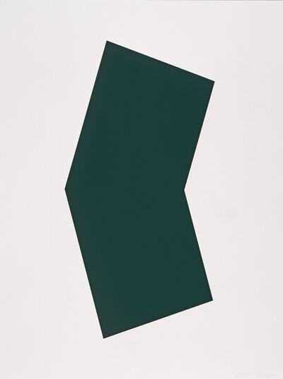 Ellsworth Kelly, 'Green', 2001