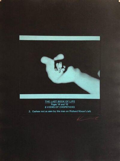 "Les Levine, 'Large Conceptual ""Last Book of Life"" Photo Etching 1970s Pop Art', 1970-1979"