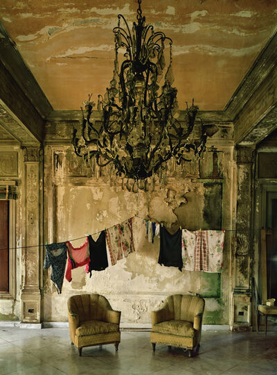 Michael Eastman, 'Isabella's Two Chairs, Havana', 2000